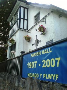 Dinas Powys Baptist Church meets at the Parish Hall at 10.30 on Sunday. Please click photo for our service times.